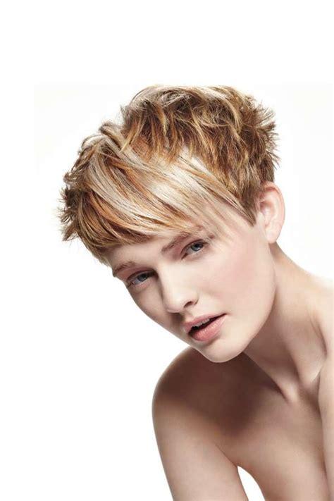 freche kurzhaarfrisuren trendy short hair styles short