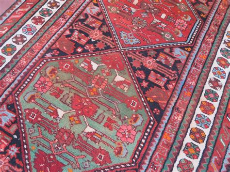cohen rugs kurdish runner lovely colors mint condition 1900 ca size m 2 71 x m 1 05 p o r