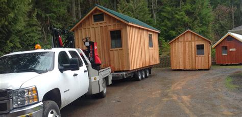 Shed Hauling by Northwest Shed Movers Cabin Shed Gazebo And Barn Moving
