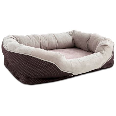 orthopedic dog bed large big dog beds orthopedic large breed dog beds bullybedscom