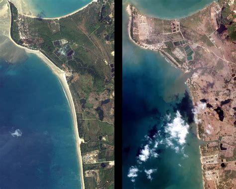 el tsunami el antes y el despu 233 s del tsunami en las costas lo imposible el nuevo fen 243 meno