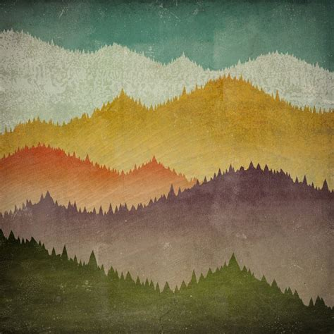 mountain view smoky mountains green mountains framed giclee print 10x