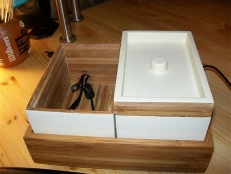 ikea charging station hack convert an ikea bath container into a stylish charging