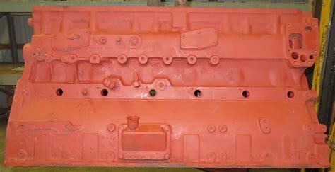 engine cummins cm  engine block good    cyl diesel