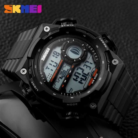 Jam Tangan Shark Digital Led Date Day Big White Quartz Army Wrist shock led digital sports watches big brand fashion jam tangan deals