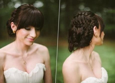 Hochzeit Frisuren Mit Pony by Hochzeit Frisuren Mit Pony