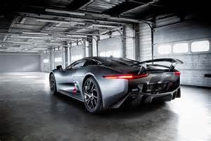 jaguar c x75 hybrid supercar prototype the