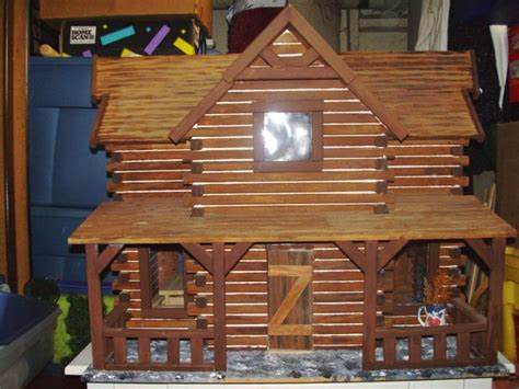 Log Cabin Craft Kits by Shenandoah Log Cabin Dollhouse