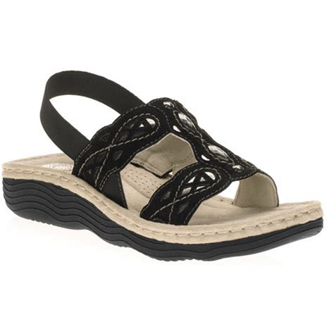 earth shoes walmart earth spirit s cheyenne sling back sandals walmart