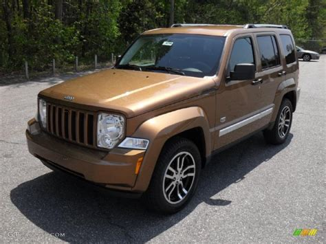 bronze jeep 2011 bronze star pearl jeep liberty sport 70th anniversary