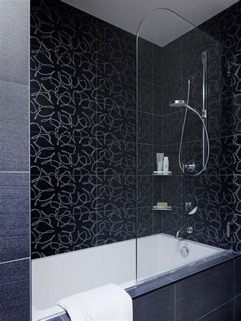 34 black bathroom tile ideas and pictures 34 black bathroom tile ideas and pictures