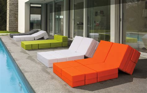 ultra modern patio furniture adaptable outdoor furniture kuboletto by bedding