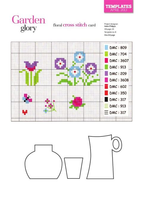 cross stitch card templates floral cross stitch card free card downloads