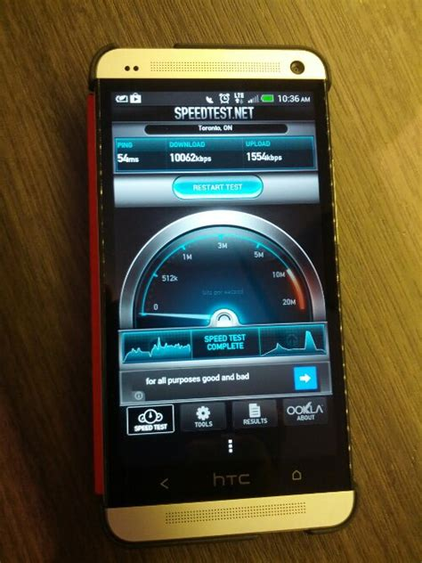 speed test wind mobile rogers mobile speed test results with htc one on lte