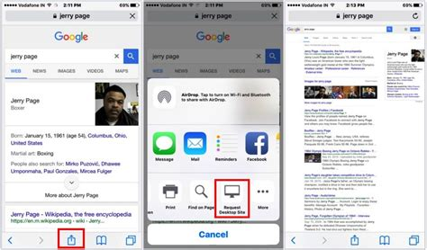 chrome mobile view open mobile website in desktop view on iphone ipad how to
