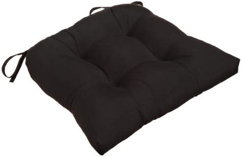 black chair cushions with ties chair cushions