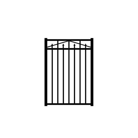 home depot gates metal fence gates metal fencing fencing lumber composites the home depot
