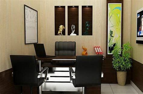 Manager Cabin Interior by Corporate Offices Interior Designs