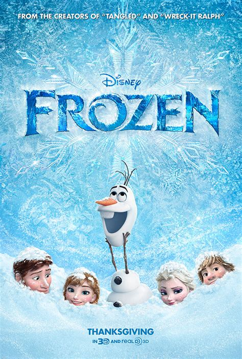 Frozen Movie Poster | 23 worst movie posters the design lessons they teach
