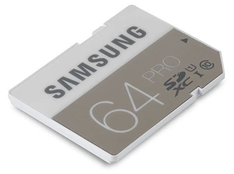 Memory Card Samsung samsung pro 64gb sdxc memory card review 90mb s read 80mb s write memory speed