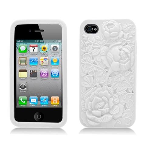 Iphone 4 4s 4g Sulley 3d Casing Silicone Armor Bumper Tpu flowers pictures