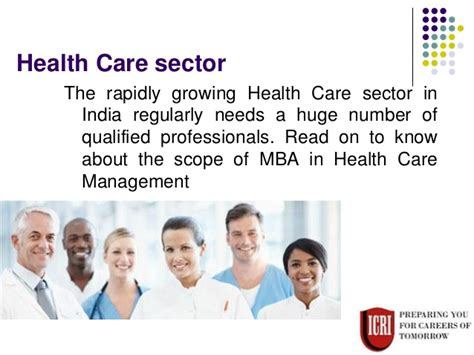 Mba In Healthcare by Great Future For Students Of Mba In Health