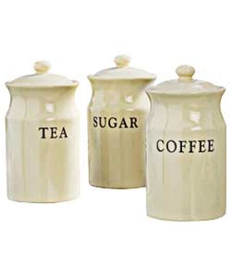 Storage Devices set of 3 classic cream storage jars review compare