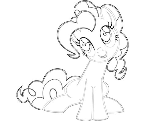 my little pony pinkie pie coloring pages free coloring pages