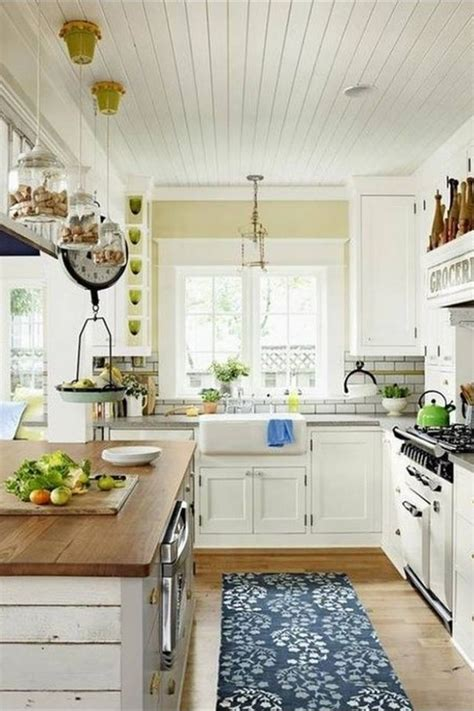 Country Cottage Kitchen by Country Cottage Kitchen Ceiling For The Home Kitchen