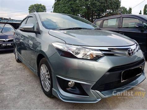 2015 Toyota Vios 1 5 G Trd A T toyota vios 2015 g 1 5 in selangor automatic sedan grey