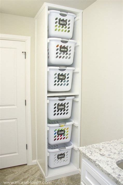 laundry organizer best 25 laundry storage ideas on pinterest laundry