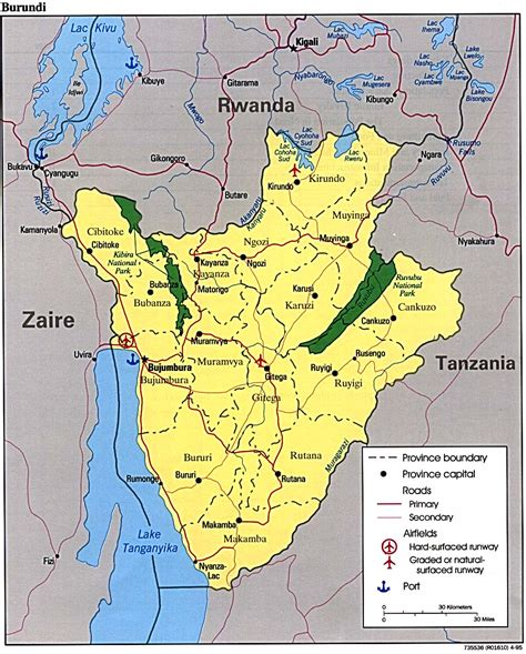 where is burundi on a world map nationmaster maps of burundi 15 in total