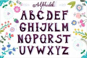 the alphabet in cool letters sample letter template