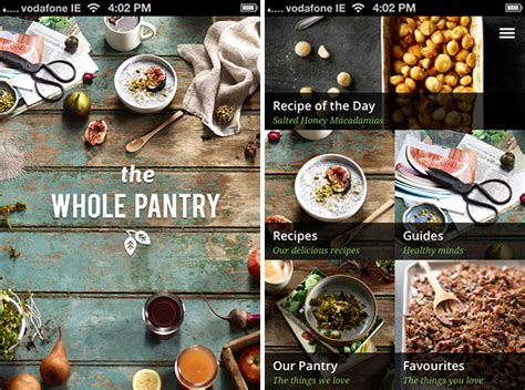 In Pantry App by 6 Recipe Apps To Help You Boost Health Espresso1882