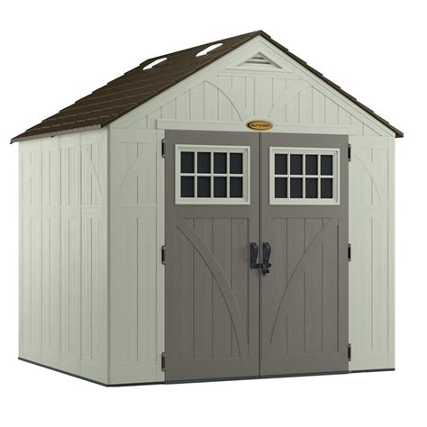 7 X 6 Shed by Shop Suncast Tremont Gable Storage Shed Common 8 Ft X 7