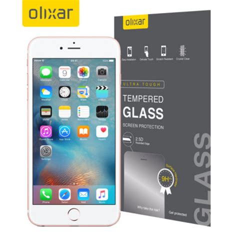 Paket 3 In 1 Tempered Glass Iphone 6s Plus Banyak Gratisan olixar iphone 6s plus tempered glass screen protector