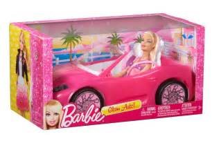 Mattel Barbie Doll Dream House Glam Pink Convertible Car With Barbie New Ebay