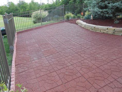 rubber pavers for patio rubber pavers for patio what are the pros and cons of