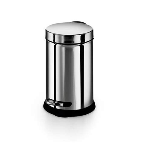 small bathroom waste baskets stainless steel waste basket bellacor