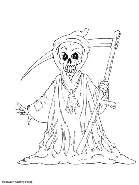Halloween Coloring Pages Free Printable Scary Coloring Home Where To Buy Horror Coloring Books