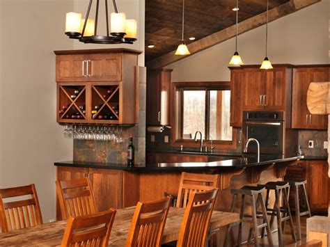wine themed kitchen decorating ideas with open wine rack