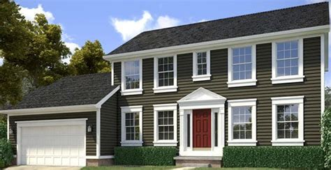 shadow homes two story homes mastic siding and siding options