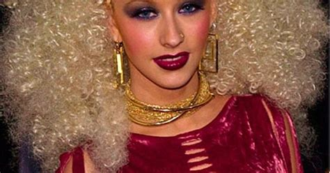 Aguilera Could Be by Aguilera Overkill The Dramatic Make Up And