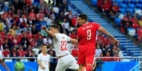 suiza vs serbia en vivo gol de mitrovic tras genial