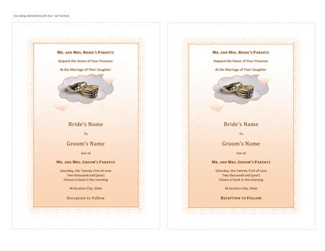 microsoft word invitation templates free complete guide example