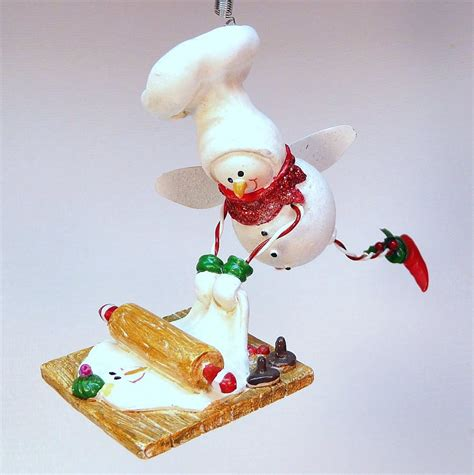 flying snowman baker ornament christmas midwest angel on a