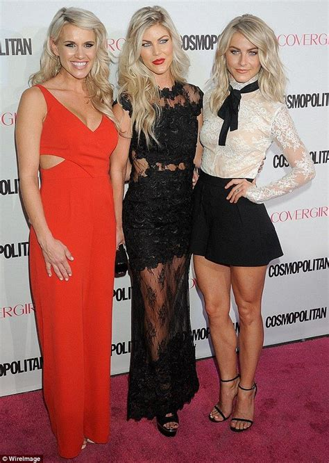 derek houghs sister sharee hough julianne hough and her sisters dazzle at cosmo party in