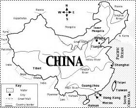 Great Wall Of China Map Outline by Aim