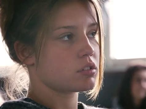 film blue is the warmest colour trailer picture adele exarchopoulos at cannes film festival