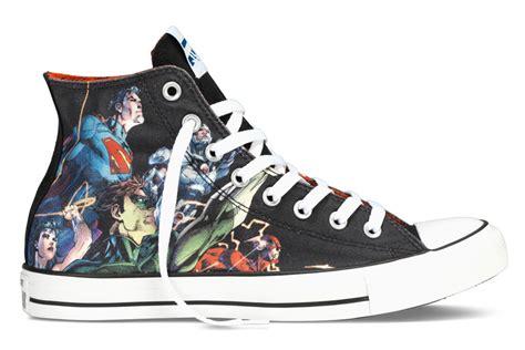 Sepatu Converse Chuck High Edition converse releases dc comics collection for batman vs